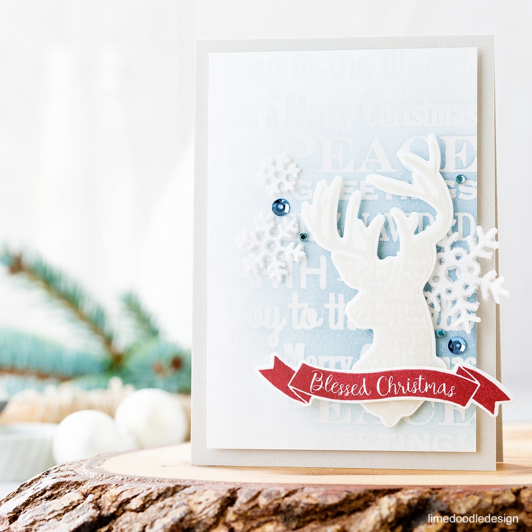 Magical Christmas with the new Simon Says Stamp Believe In The Season Release. Find out more about this card by clicking on the following link: http://limedoodledesign.com/2016/10/magical-christmas-and-new-simon-release/