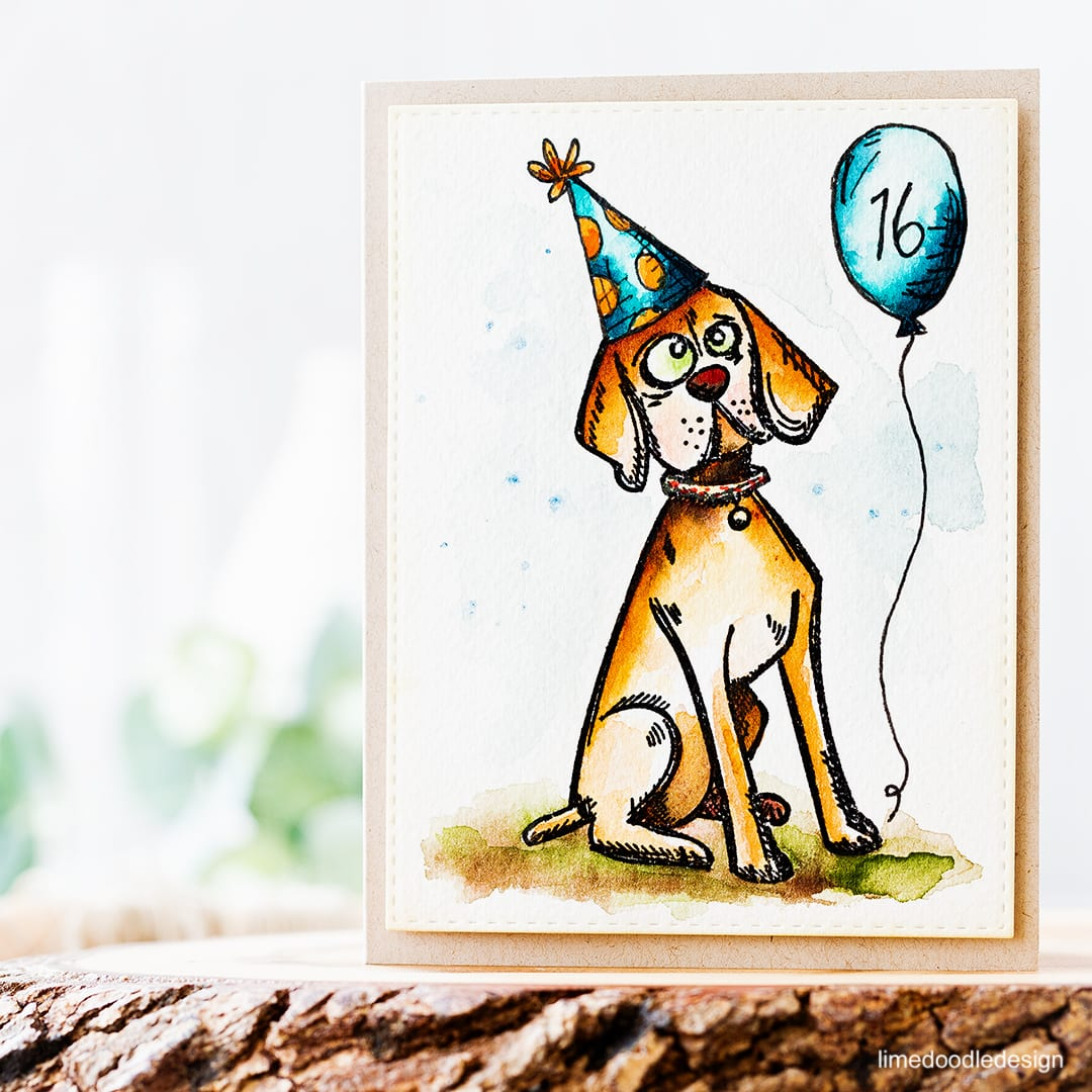 Small touches to personalise an image can make a huge difference to the recipient. Find out more about this birthday card by clicking on the following link: http://limedoodledesign.com/2016/10/personalising-cards/