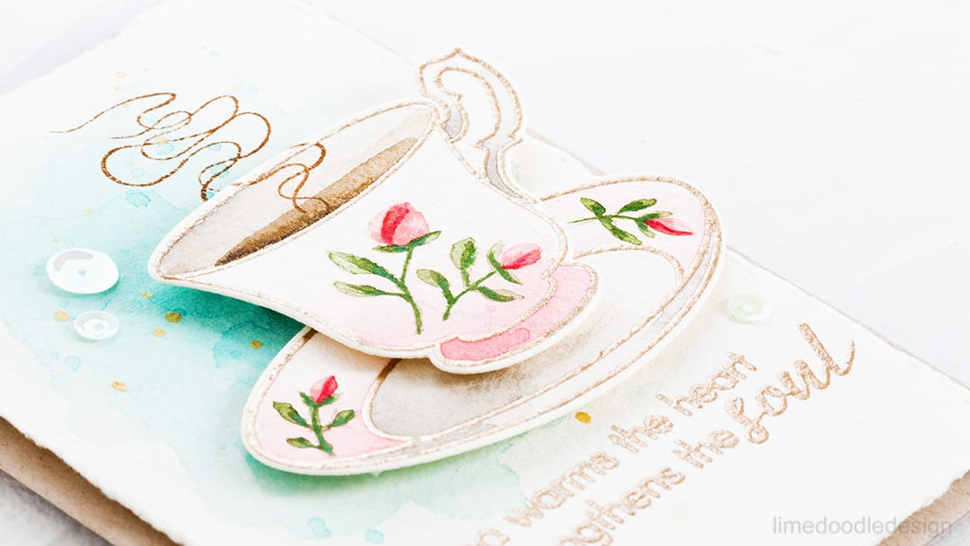 Video – Vintage Teacup Watercolor + Giveaway