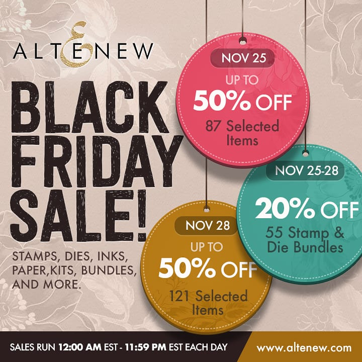 Altenew Black Friday Sale