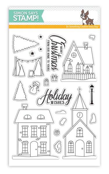 Simon Says Stamp Christmas Town stamp set