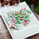 Winter Berries – Colored Pencils On Kraft Card