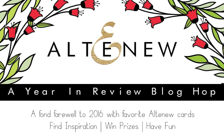 Altenew year in review blog hop - looking back at favorites from 2016 😀 As with any good hop there's prizes and giveaways! Find out more by clicking on the following link: http://limedoodledesign.com/2016/12/altenew-year-in-review-blog-hop/