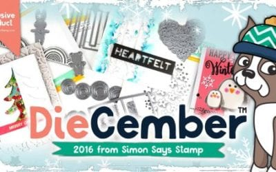 Diecember New Release From Simon Says Stamp