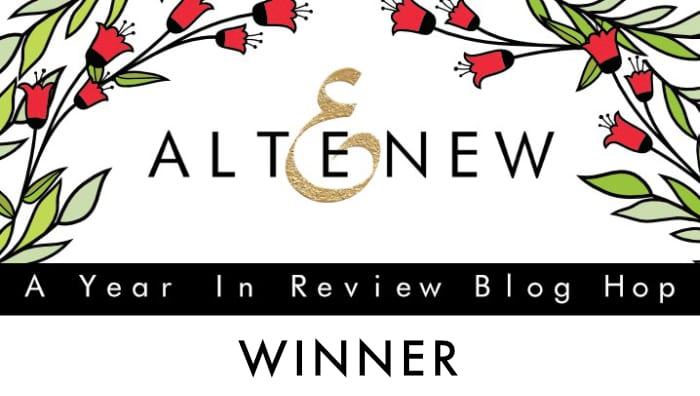 Altenew Year In Review Blog Hop Winner