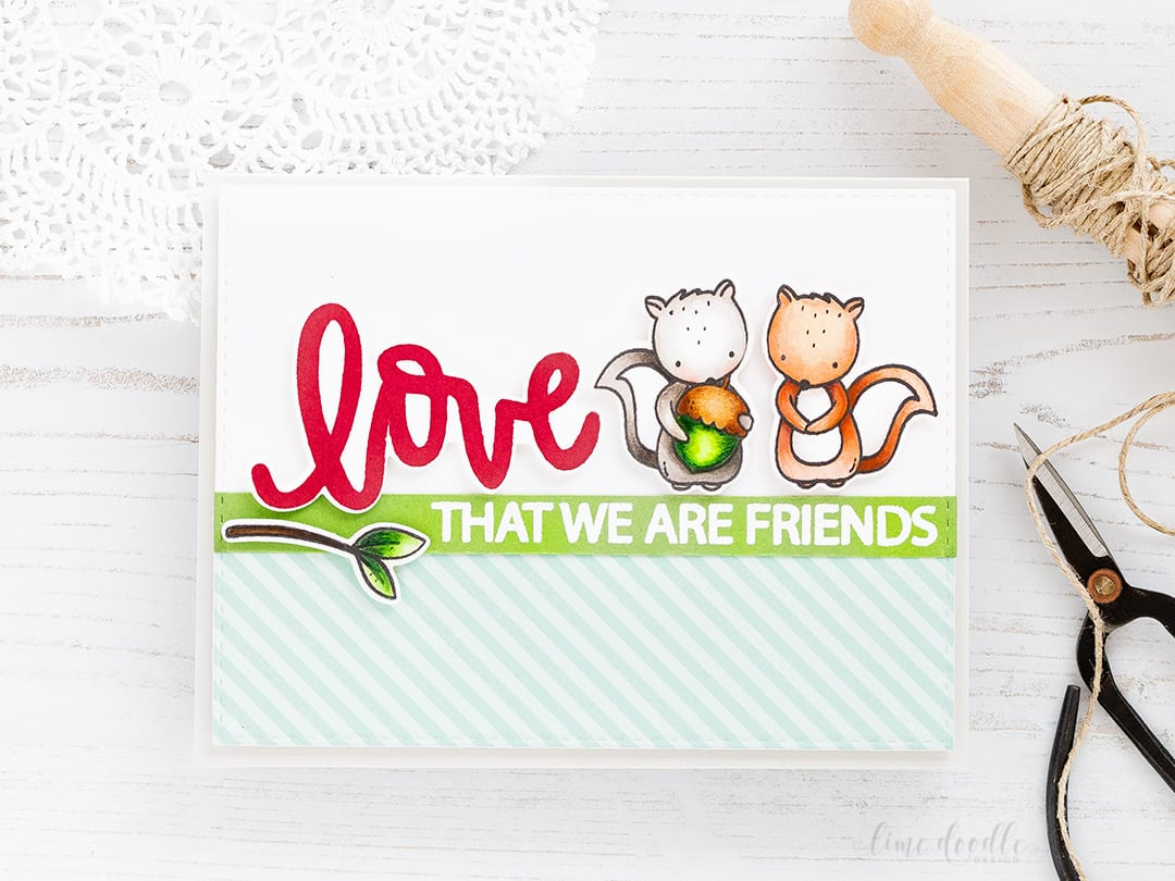 Friendship Card – Love That We Are Friends