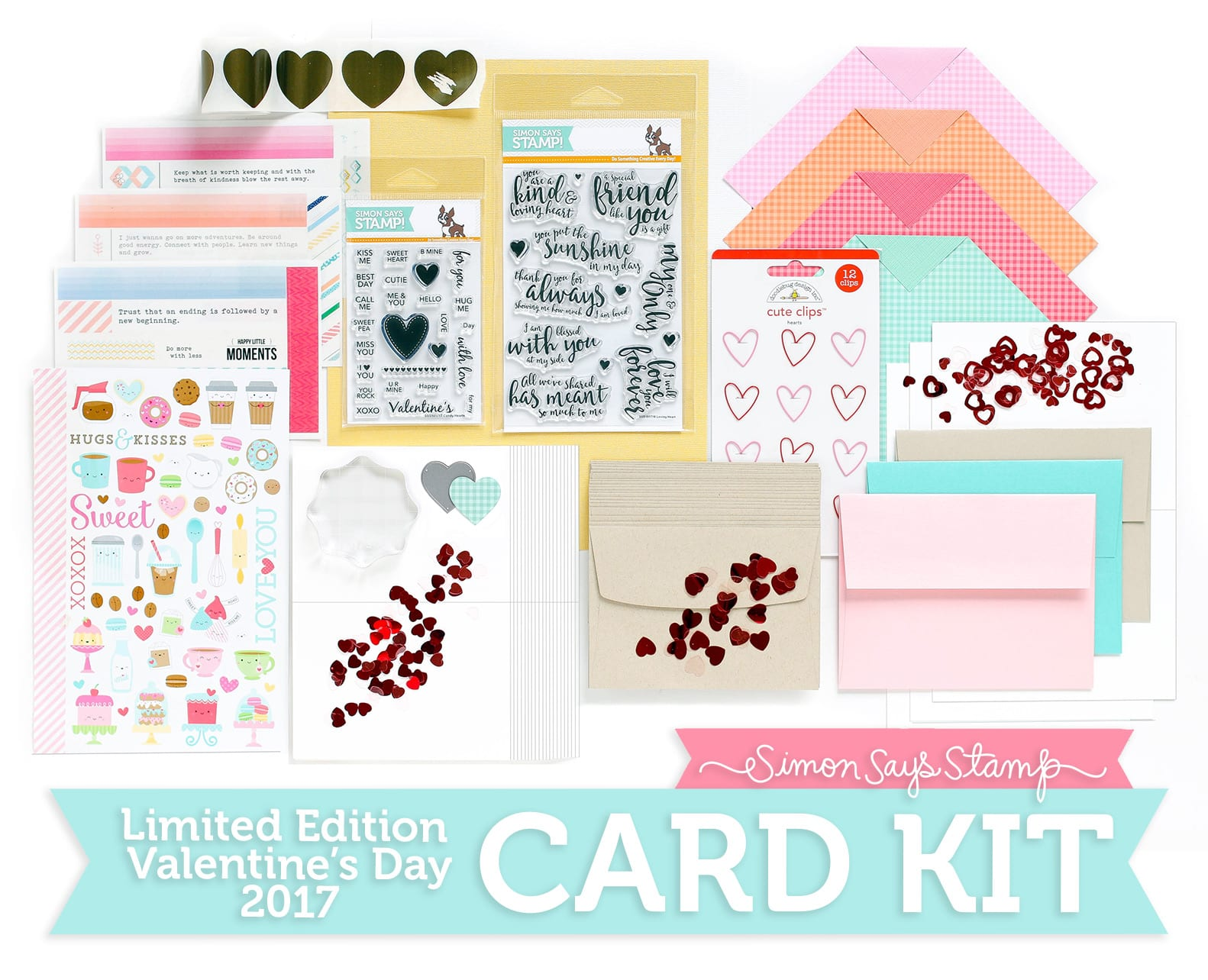 Limited Edition 'Love You Forever' Card Kit