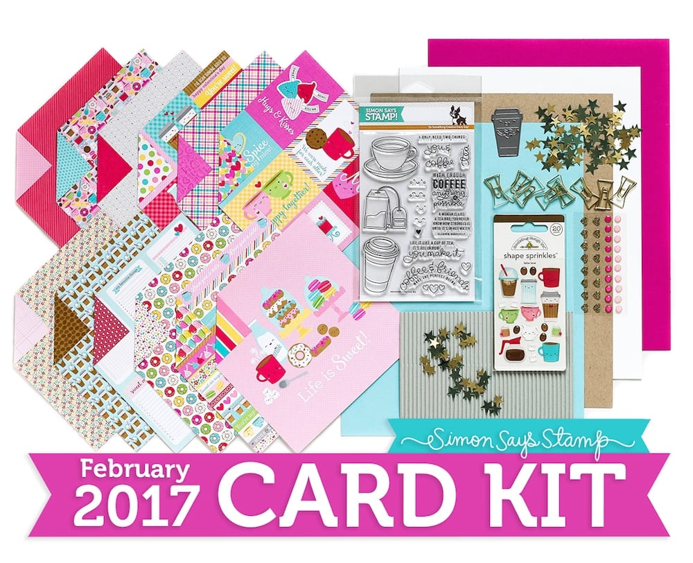 Simon Says Stamp February 2017 Card Kit