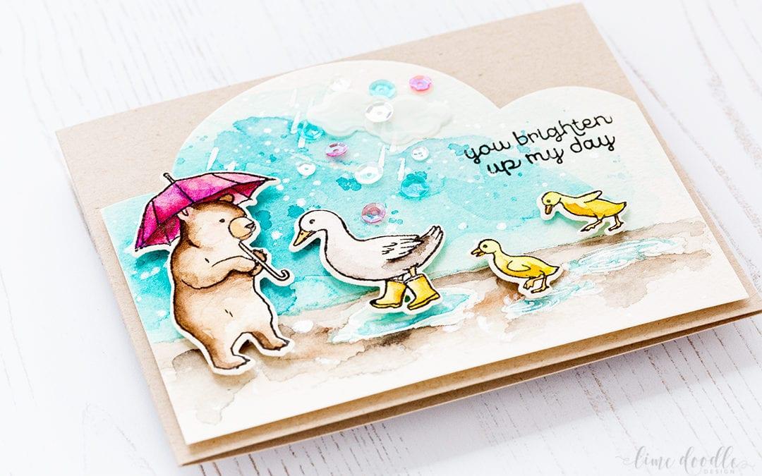Puddle Ducks – Hero Arts My Monthly Hero