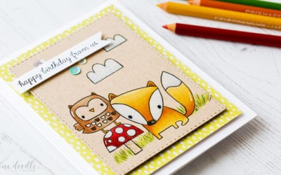 Video – Spring Critters. Coloured Pencils On Kraft