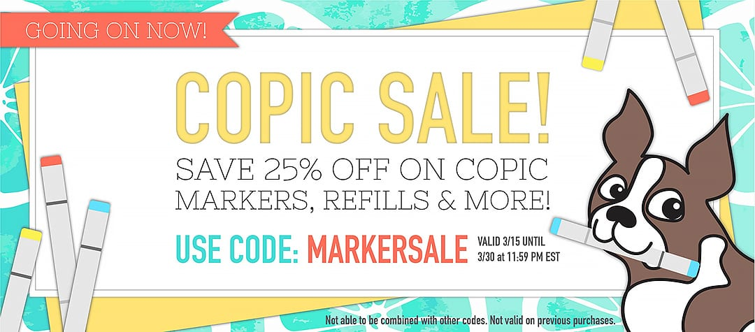 Simon Says Stamp Copic Sale