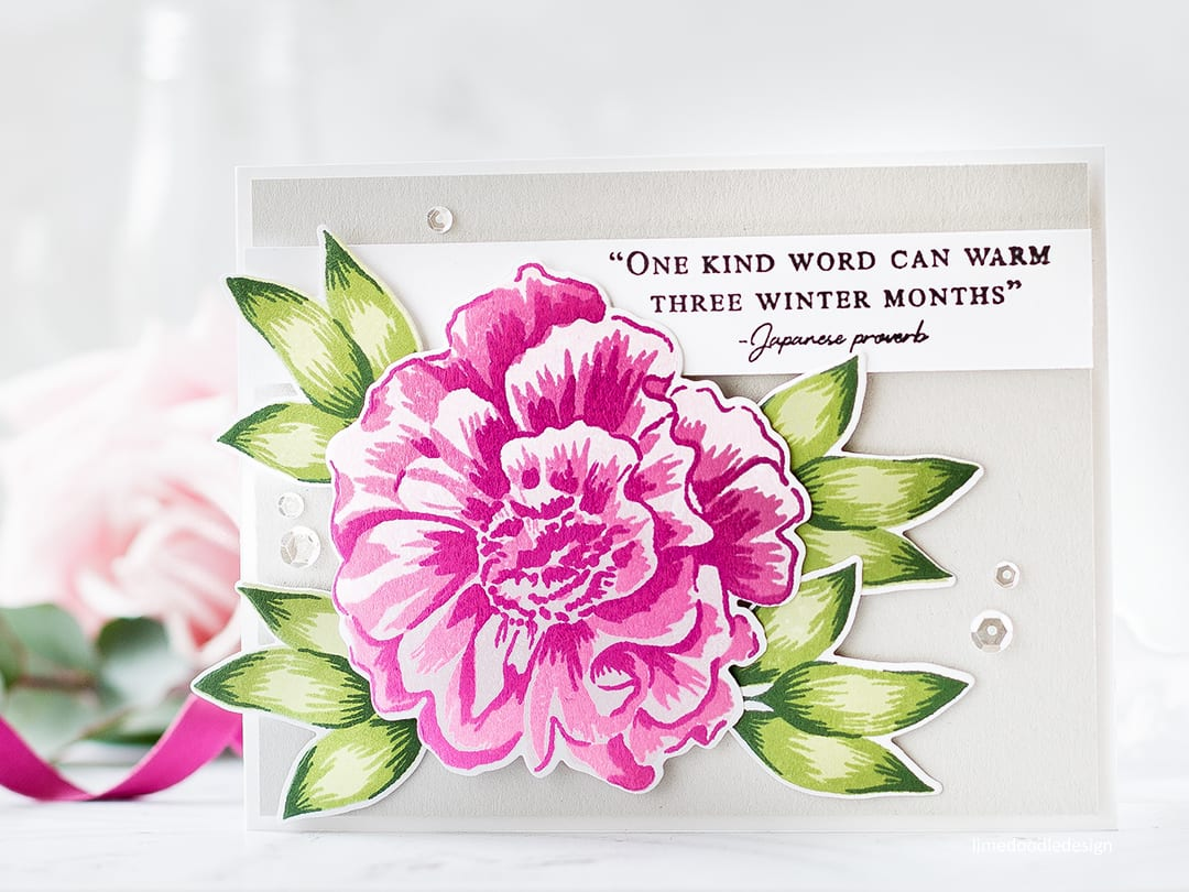 Altenew Build A Flower: Camellia card by Debby Hughes. Find out more about this card by clicking on the following link: http://limedoodledesign.com/2017/03/video-altenew-build-a-flower-camellia-giveaway-winner/