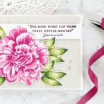 Video – Altenew Build-A-Flower Camellia + Giveaway  + Winner
