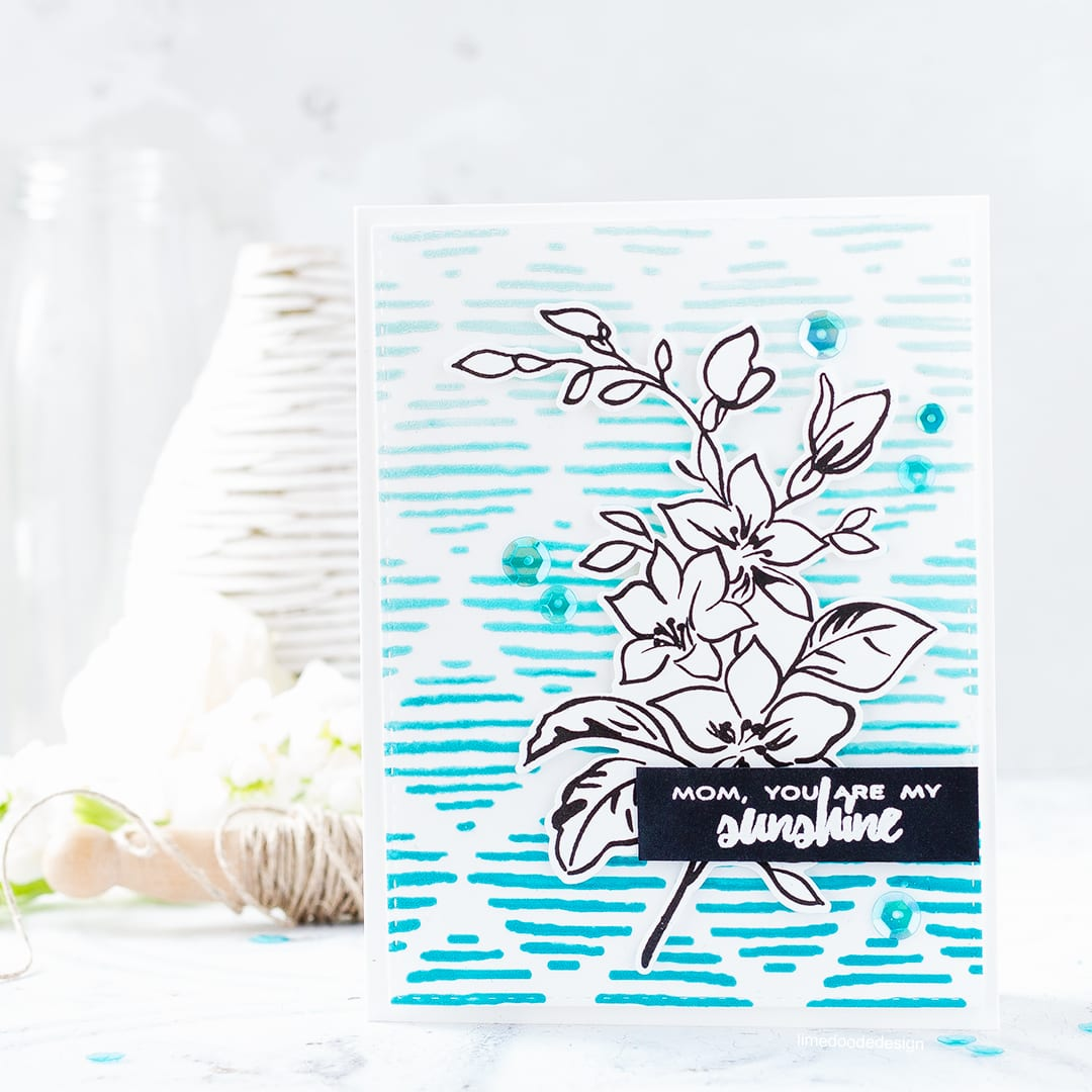Two mother's day cards by Debby Hughes exploring the new Altenew stencils and spray inks. Find out more by clicking on the following link: http://limedoodledesign.com/2017/03/altenew-stencils-ink-sprays-release-blog-hop-giveaway/