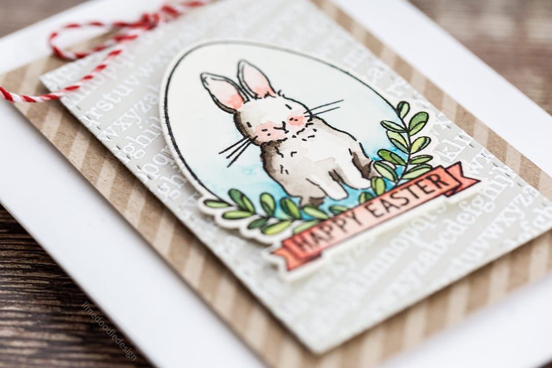Spring is in the air - easter trio of tag, card and treat bag by Debby Hughes. Find out more by clicking on the following link: http://limedoodledesign.com/2017/03/spring-is-in-the-air-easter-trio/