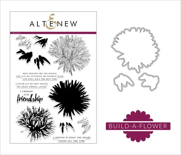 Altenew Build A Flower Aster