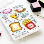 Doodling With Debby – Funny Food Watercolour