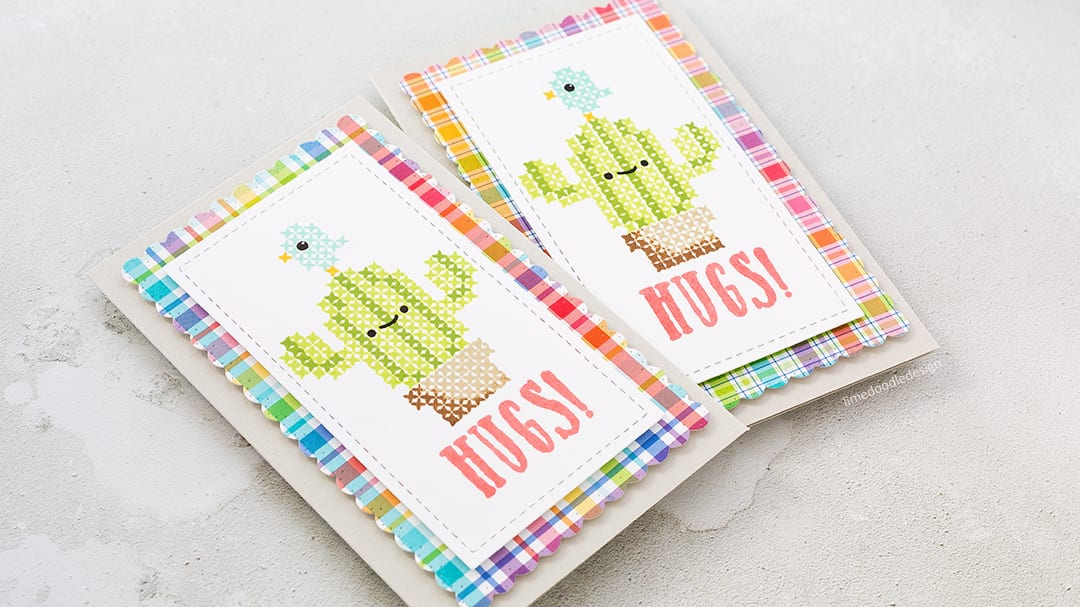 Stitched Cacti Cuties