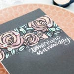 Watercolouring On Dark Card – New Finetec Palette + Winner