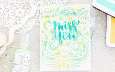 New Simon Says Stamp Cherished Release – Miss You