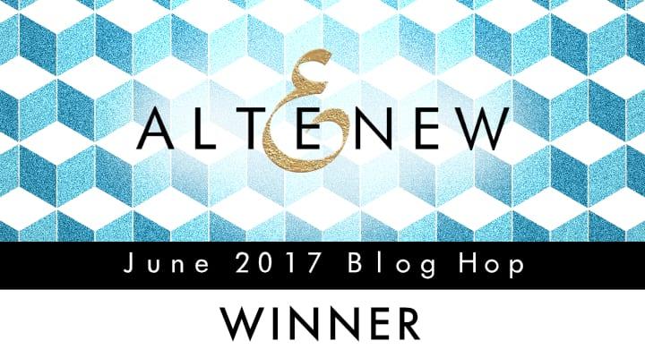 Altenew June Blog Hop Winner