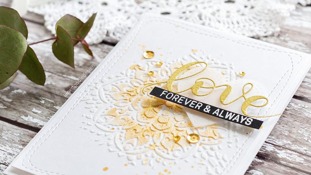 Quick & Easy Card For The Wedding Season