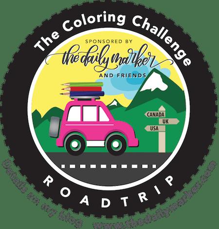 Kathy Racoosin's Coloring Challenge Road Trip!
