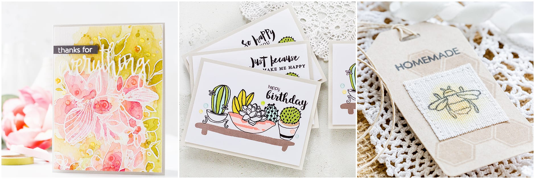 Reviewing the new July 2017 release from Altenew. Handmade cards by Debby Hughes. Find out more: http://limedoodledesign.com/2017/07/altenew-july-2017-release-blog-hop-giveaway/