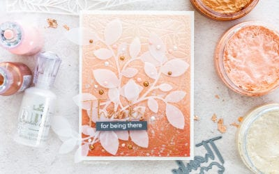 Embossing With A Stencil