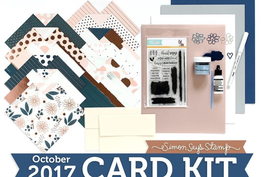 Simon Says Stamp October Card Kit