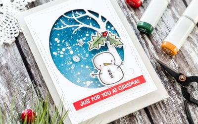 Video – Quick & Easy Winter Scene + Sales News
