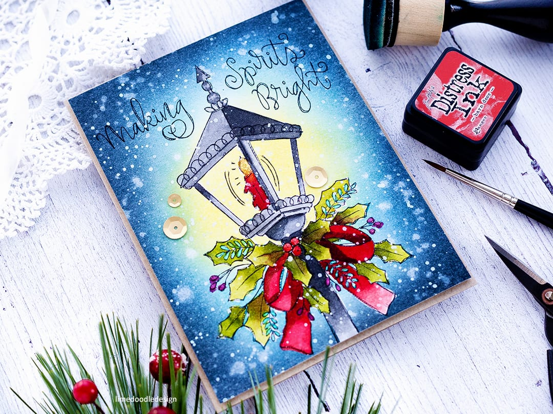 Cyber Week Surprise – Holiday Watercolour Prints!