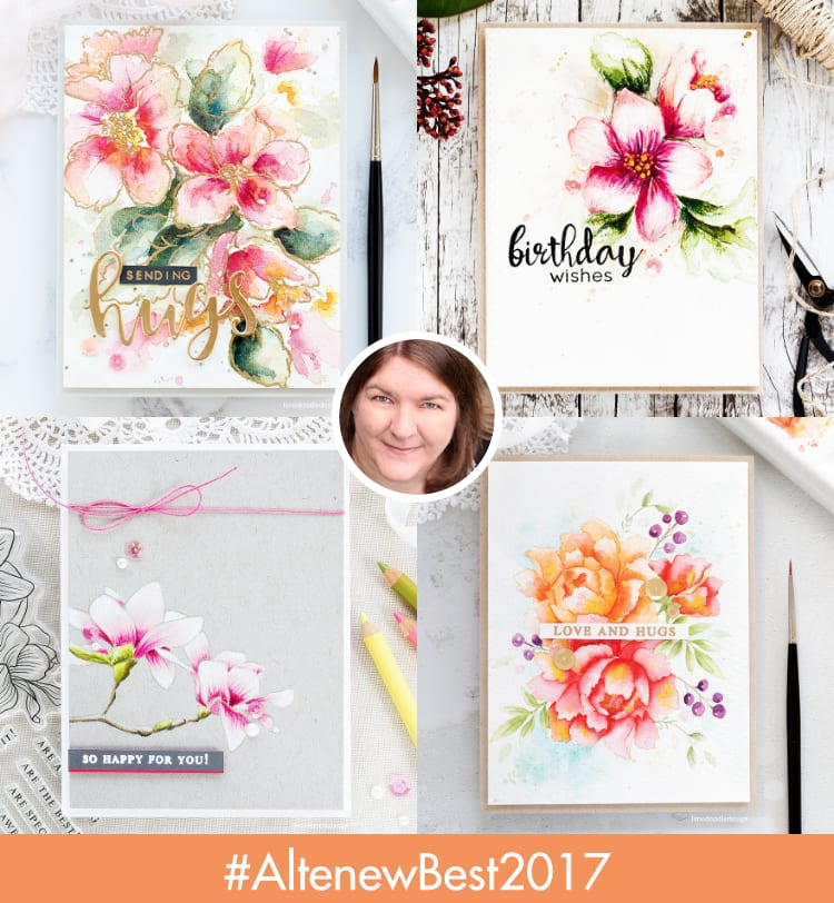 Altenew A Year In Review Blog Hop + Giveaway