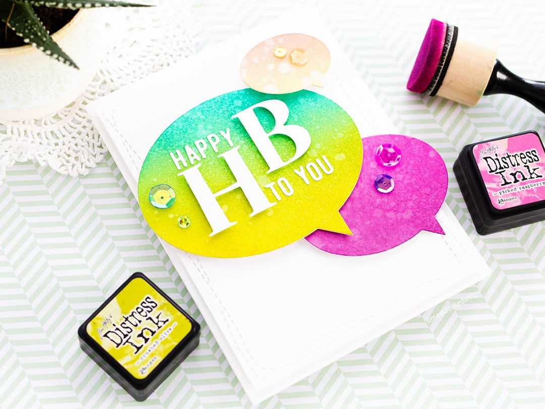 Happy HB + Simon Says Stamp Diecember Release