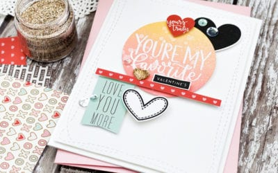 All The Hearts For The Simon Says Stamp January Card Kit