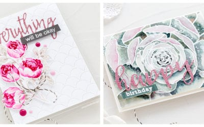 Video – Altenew March Stamp & Die Release Blog Hop + Giveaway