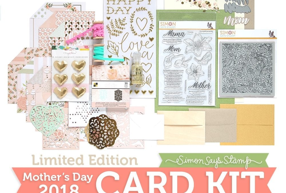 Simon Says Stamp Limited Edition Mother's Day Card Kit