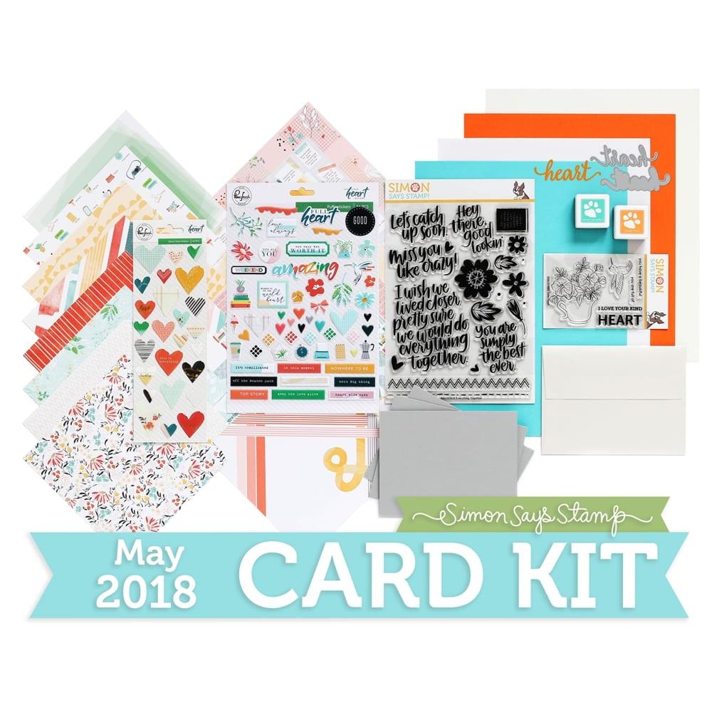 Simon Says Stamp May 2018 Card Kit