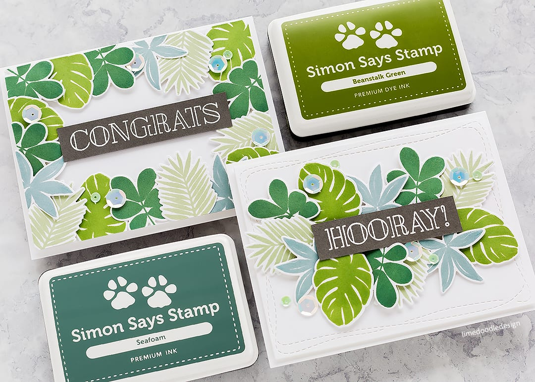 Video – Simply Stamped Tropical Leaves