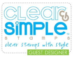 clear and simple stamps guest designer