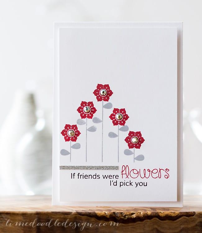 if friends were flowers