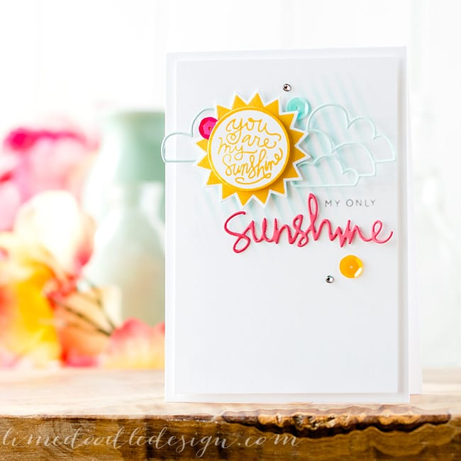 Debby Hughes - Lime Doodle Design - Simon Says Stamp pure sunshine new release