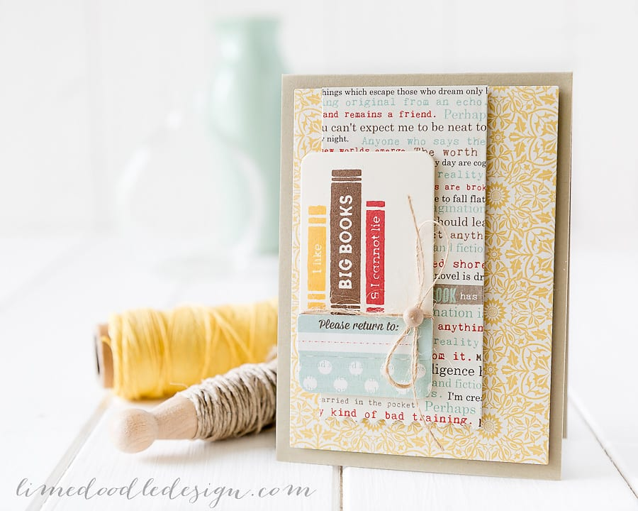 Debby Hughes - Lime Doodle Design - Simon Says Stamp September Card Kit