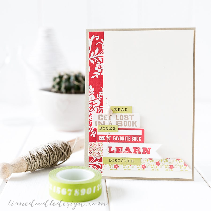 Debby Hughes - Lime Doodle Design - Simon Says Stamp September card kit