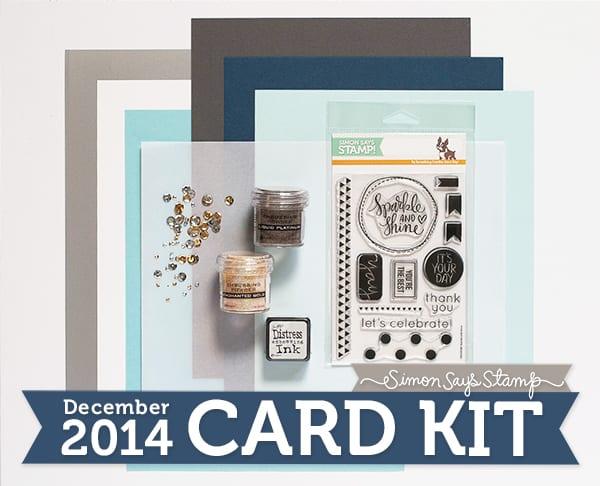 Simon Says Stamp December 2014 Card Kit