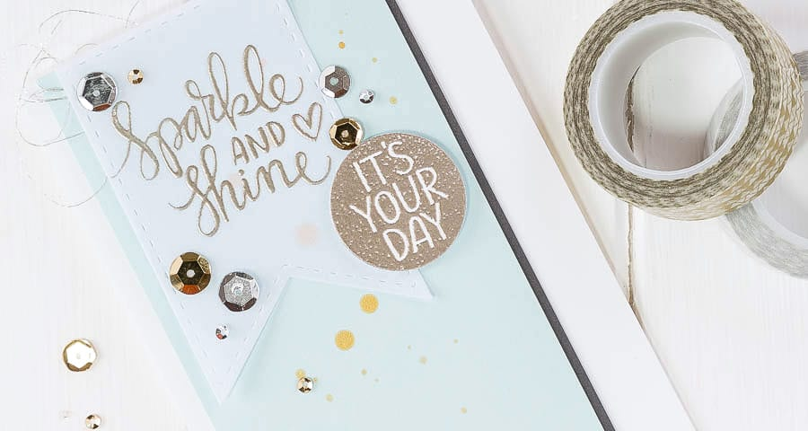 Heat embossing, a hop and a video! For more https://limedoodledesign.com/2014/11/heat-embossing/ Debby Hughes - Lime Doodle Design - #cardkit #hop #video