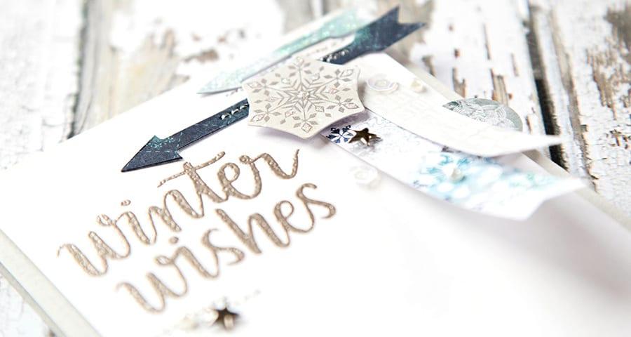 January Card Kit. For more please visit https://limedoodledesign.com/2014/12/january-card-kit-winter-wishes/ Debby Hughes - Lime Doodle Design #card #kit #winter #christmas