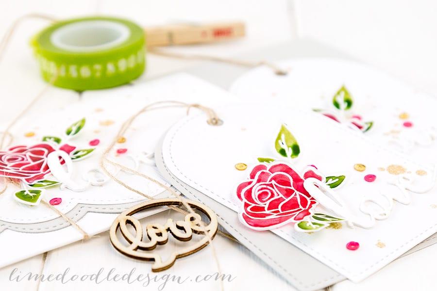 For more please visit https://limedoodledesign.com/2015/01/pretty-pink-posh-birthday-bash/ Debby Hughes - Lime Doodle Design #love #card #valentine #wedding