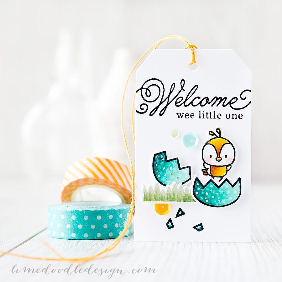 Debby Hughes - Lime Doodle Design https://limedoodledesign.com/2015/04/wee-little-one/ #tag #chick #baby