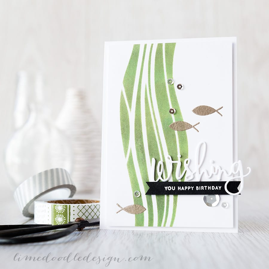 Debby Hughes - Lime Doodle Design - https://limedoodledesign.com/2015/04/wishing-you-a-…y-and-a-winner/ #card #birthday